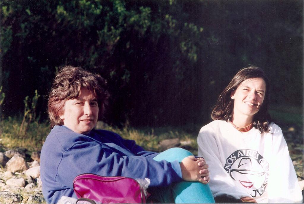 Bariloche con María del Carmen Aguilar